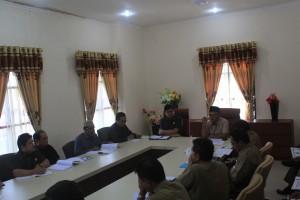 DPRD Provinsi Kaltara melakukan pertemuan dengan Pemprov Kaltara terkait penghargaan Opini Wajar Tanpa Pengecualian (WTP) yang diraih provinsi ke 34 ini pada Mei lalu.