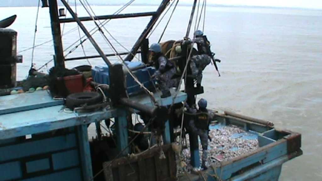 Kapan Nelayan Malaysia yang diamankan di Mako Lanal Nunukan