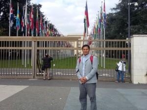 Muhamad Nour putra nelayan Kota Tarakan bersuku Tidung kini berkarir di organisasi Persatuan Bangsa-Bangsa.