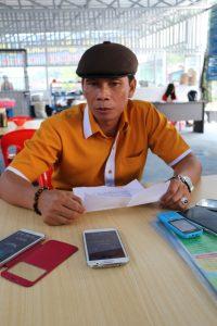 Ketua Tim Pemenangan Pasangan Pejuang Kaltara Supaad Hadianto