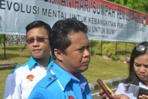 Ketua KNPI Tarakan Hariyadi Hamid
