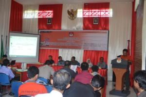 Rapat Pleno Terbuka DPTd-1 di KPU Kota Tarakan.