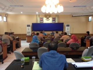 Rapat koordinasi Pemkot Tarakan bersama pemilik THM di Kota Tarakan.