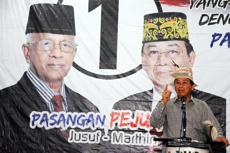 Calon Wakil Gubernur Kaltara Marthin Billa.