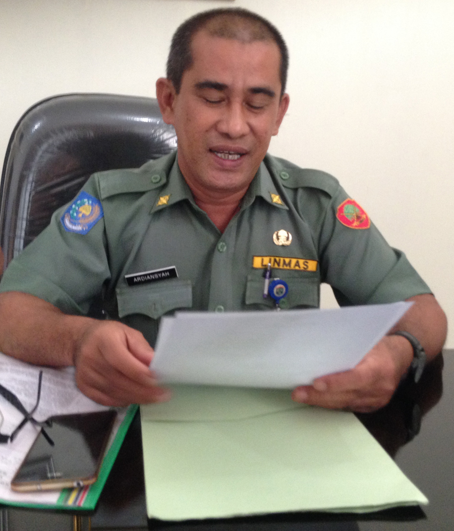 Kepala Bagian Organisasi Sekretariat Pemkot Tarakan Ardiansyah.