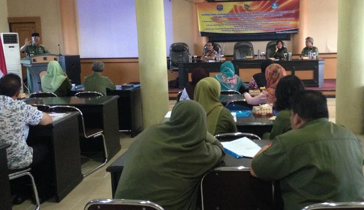 Walikota Tarakan Sofian Raga saat memberikan pengarahan pentingnya keselamatan pelajar untuk dijaga bersama dalam seminar pendidikan.
