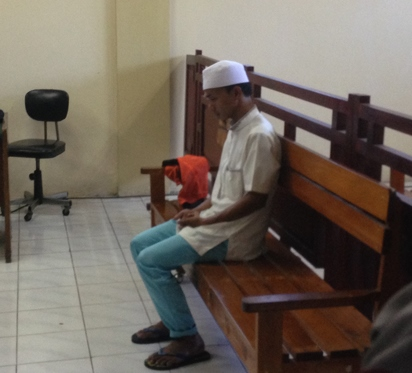 Sapri kurir sabu divonis 20 tahun penjara.