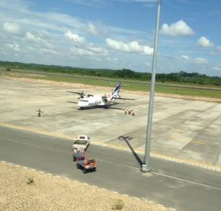 Area Parking Flight di Bandara Juwata Tarakan.