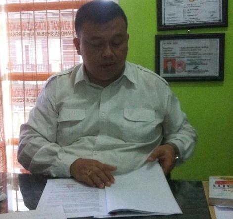 Ketua GTI Provinsi Kaltara Alex Chandra yang juga berprofesi sebagai pengacara.