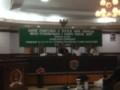 Paripurna Pemberhentian Ketua DPRD Tarakan Diskor