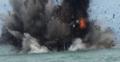 Lima Kapal Asing Meledak di Perairan Tarakan